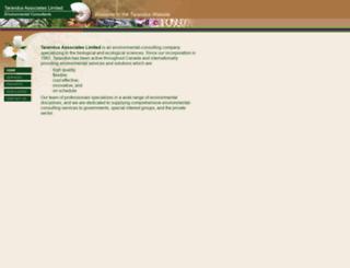 tarandus.ca screenshot