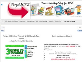 targeticse.co.in screenshot
