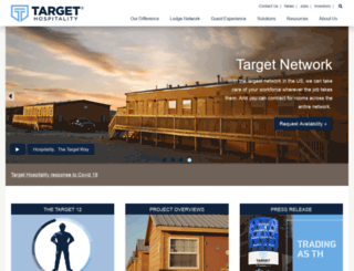 targetlogistics.net screenshot