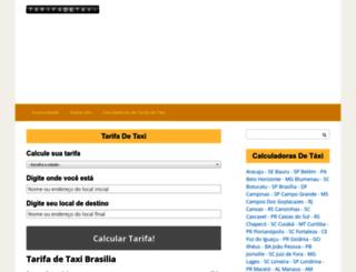 tarifadetaxi.com screenshot