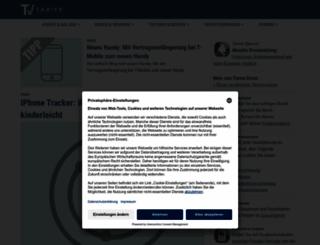tarife-verzeichnis.de screenshot