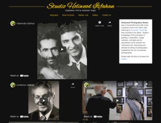 tarighi.net screenshot