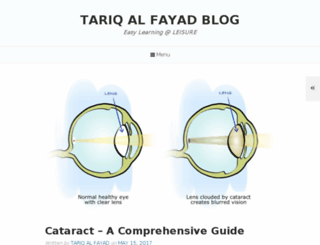 tariqalfayad.blogspot.com screenshot