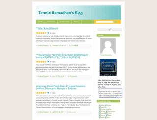 tarmizi.wordpress.com screenshot
