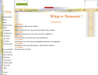 tarnow-miasto.prv.pl screenshot