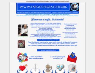 tarocchigratuiti.org screenshot