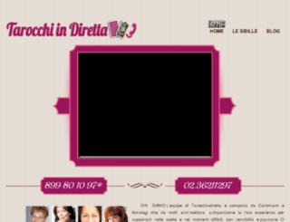 tarocchindiretta.it screenshot