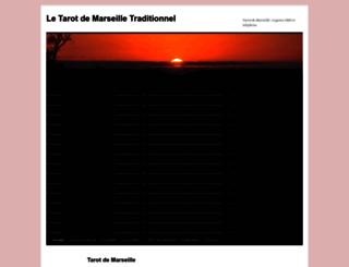 tarot-de-marseille-traditionnel.com screenshot