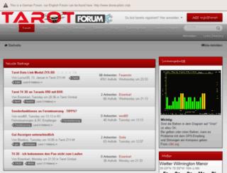 tarot-forum.eu screenshot