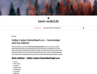 tarot-orakel.de screenshot