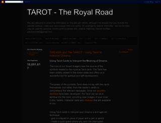 tarot-theroyalroad.blogspot.com screenshot