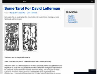 tarotconnections.wordpress.com screenshot