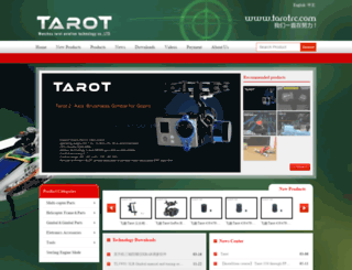 tarotrc.com screenshot