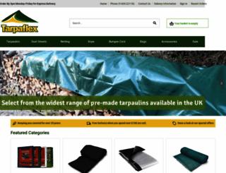tarpaflex.co.uk screenshot
