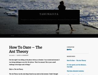 tarumaista.wordpress.com screenshot