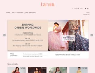 taruni.in screenshot