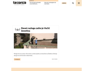 tarzanija.com screenshot