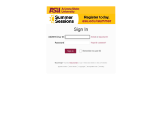 tas.asu.edu screenshot