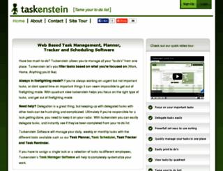 taskenstein.com screenshot