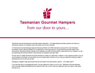 tasmaniangourmethampers.com.au screenshot
