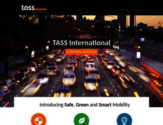 tassinternational.com screenshot