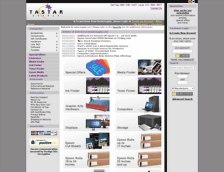 tastarsupply.com screenshot