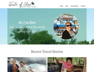 tasteofslow.com screenshot