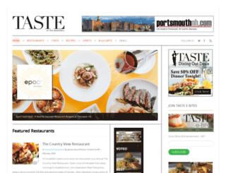 tasteoftheseacoast.com screenshot