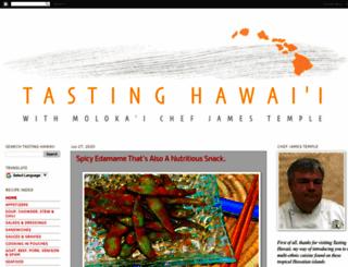 tastinghawaii.com screenshot