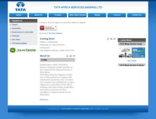 tata-nigeria.co screenshot