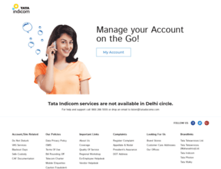 tataindicom.com screenshot