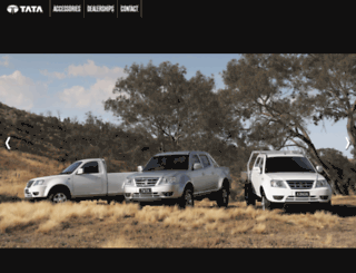 tatamotors.com.au screenshot