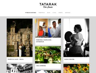 tatarakfotostudio.pl screenshot