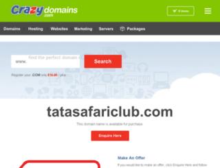 tatasafariclub.com screenshot