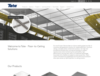 tateinc.com screenshot