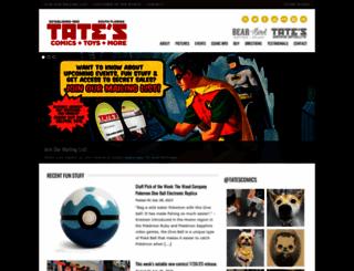 tatescomics.com screenshot