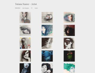 tatianasuarez.com screenshot