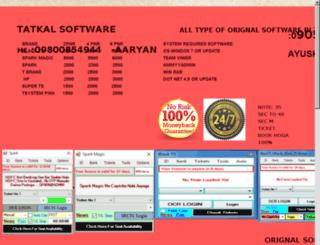 tatkalinfo.com screenshot