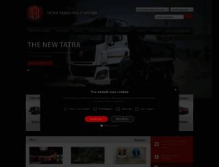 tatratrucks.com screenshot