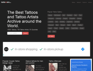 tattooers.net screenshot