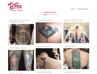 tattooideascentral.com screenshot