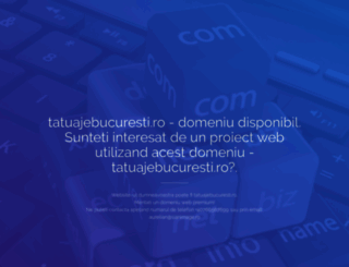 tatuajebucuresti.ro screenshot