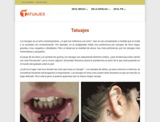 tatuajes.name screenshot
