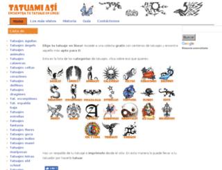 tatuamiasi.com screenshot