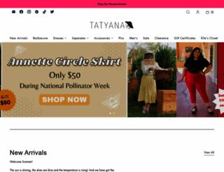 tatyana.com screenshot