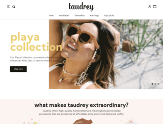 taudrey.com screenshot