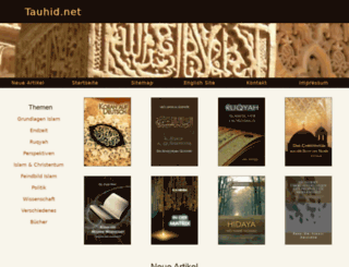 tauhid.net screenshot