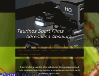 taurinossport.com screenshot