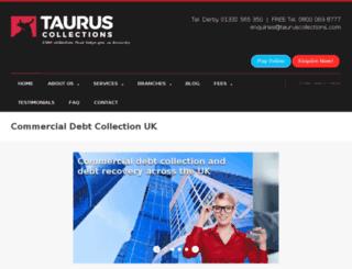 tauruscollections.com screenshot