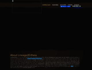 tauti.lineage2media.com screenshot